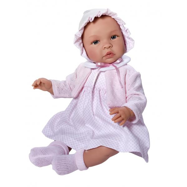 Først og fremmest skal vi have en dukke. Dette er fine Leonora, kender du til Asi dukkerne?  Ellers så tag lige et kig på dem , de er så FINE!