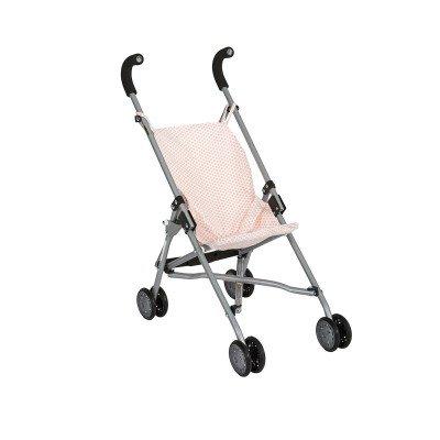 Klapvognen er god hvis man ikke har så meget plads, da den er nem at folde sammen. Ellers hvis din lille dukkemor/dukkefar elsker at medbringe køretøjer til sin dukke når I skal på udflugt.