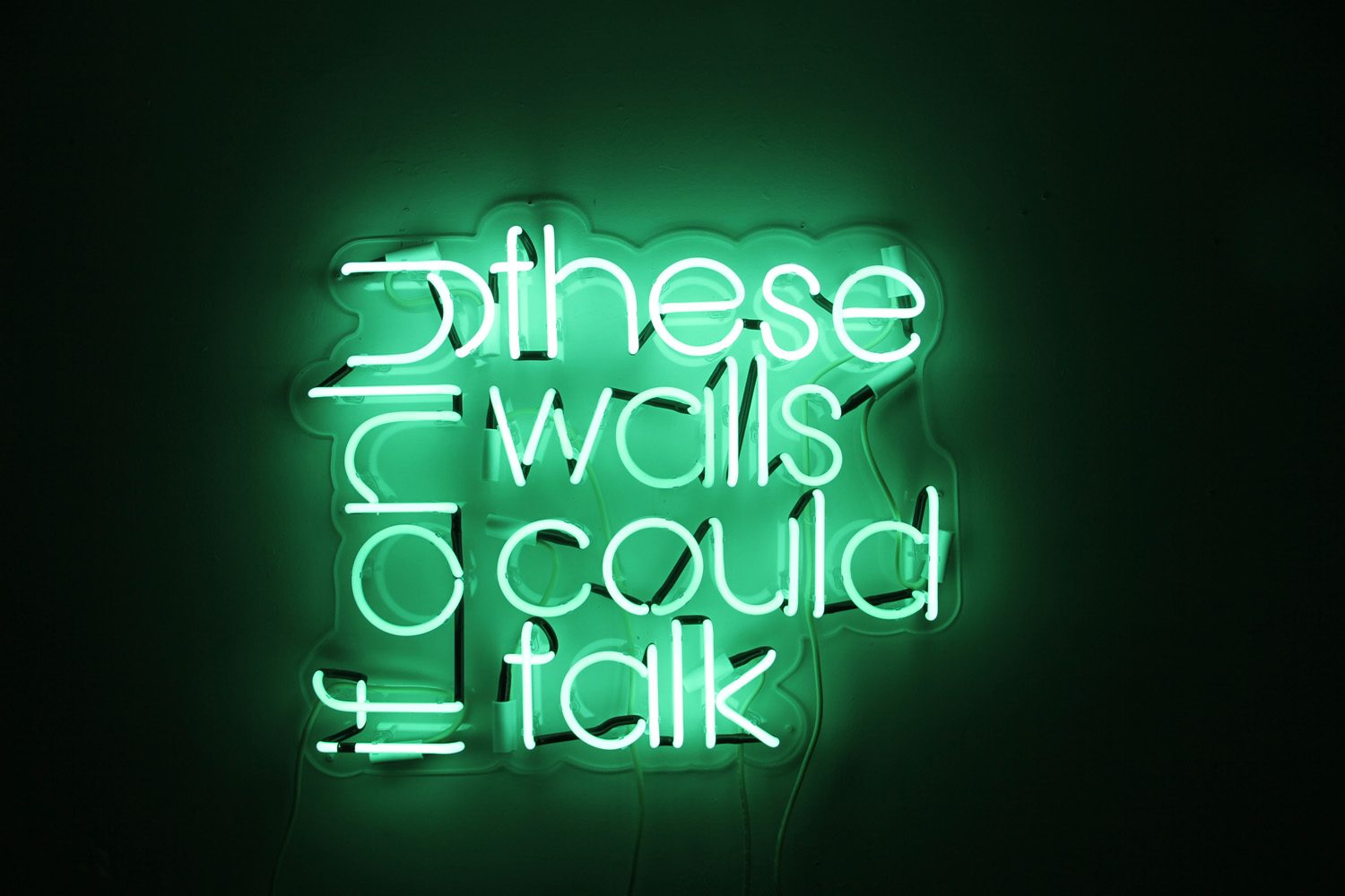 If Only These Walls Could Talk