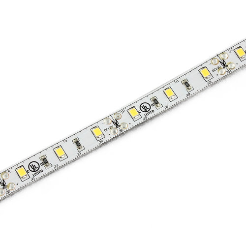 - 30 chips/2.4W per meter120 Degree Beam Angle, 97 - 118 Lumen Output, IP22, 5 Year Warranty on All LED Strip, PC-Board Pre-tinned Solder Points Higher Quality than Industry Standard, 3M Tape, Batched / Binning of all Chips 30 Meter Rolls, for Non-waterproof 5 Meter Rolls for Waterproof IP options: Silicone extrusion (IP68)