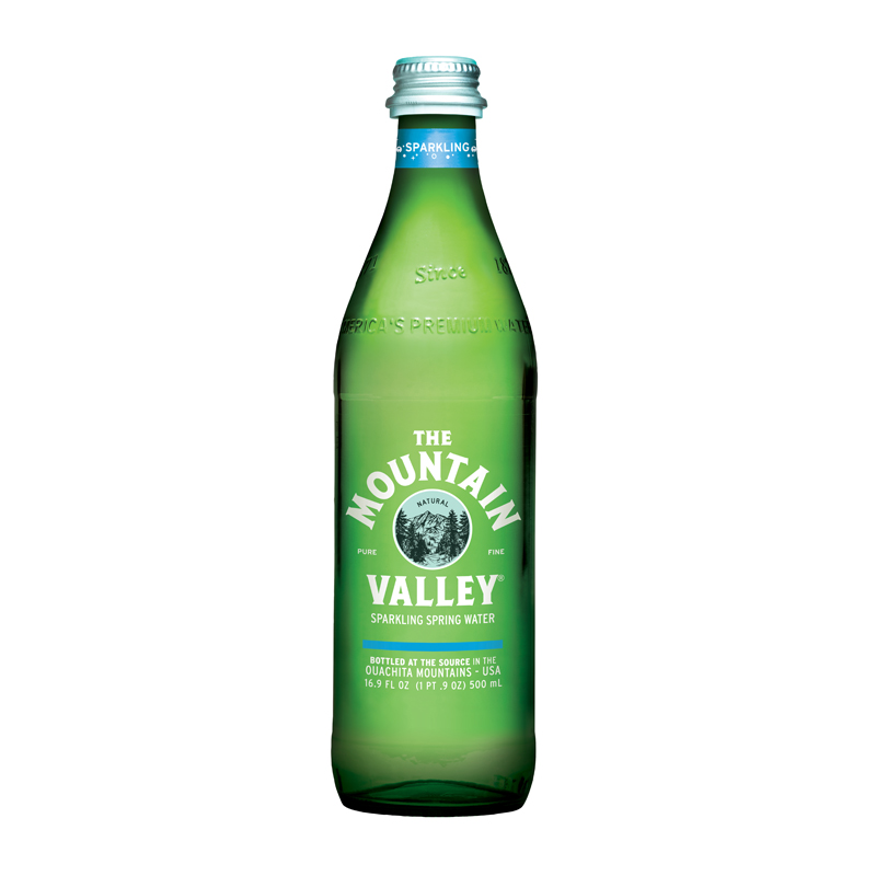 1/2 Liter Glass Bottle - Sparkling $16.50