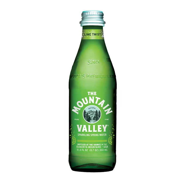 330ML Glass Bottle - Lime Sparkling $30.00