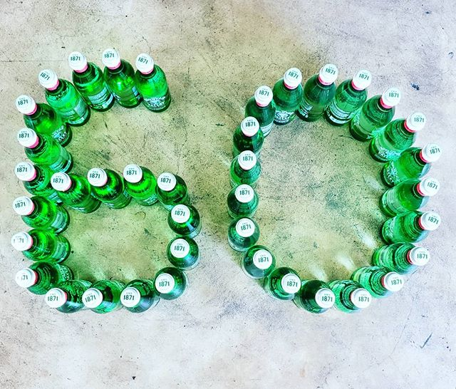 Celebrating 60 years of serving our customers the finest bottled waters. June 6, 1959 #60yearsandcounting #inthebiz #bottledwater #3generations #palmbeach #westpalmbeach #wateringlass #mountainvalleywater #familyowned #smallbusiness #fijiwater #evianwater #perrierwater #acquapanna