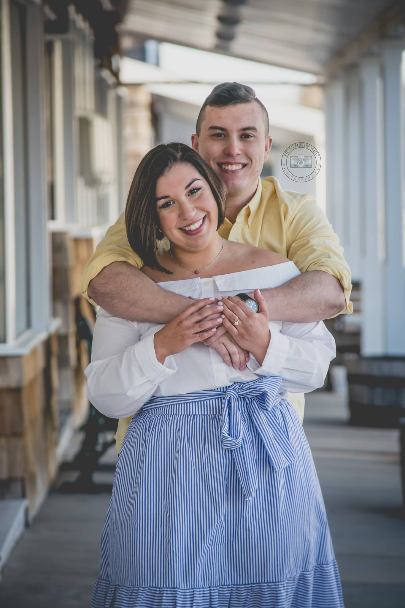 South Carolina Engagement | Northern Red Photography