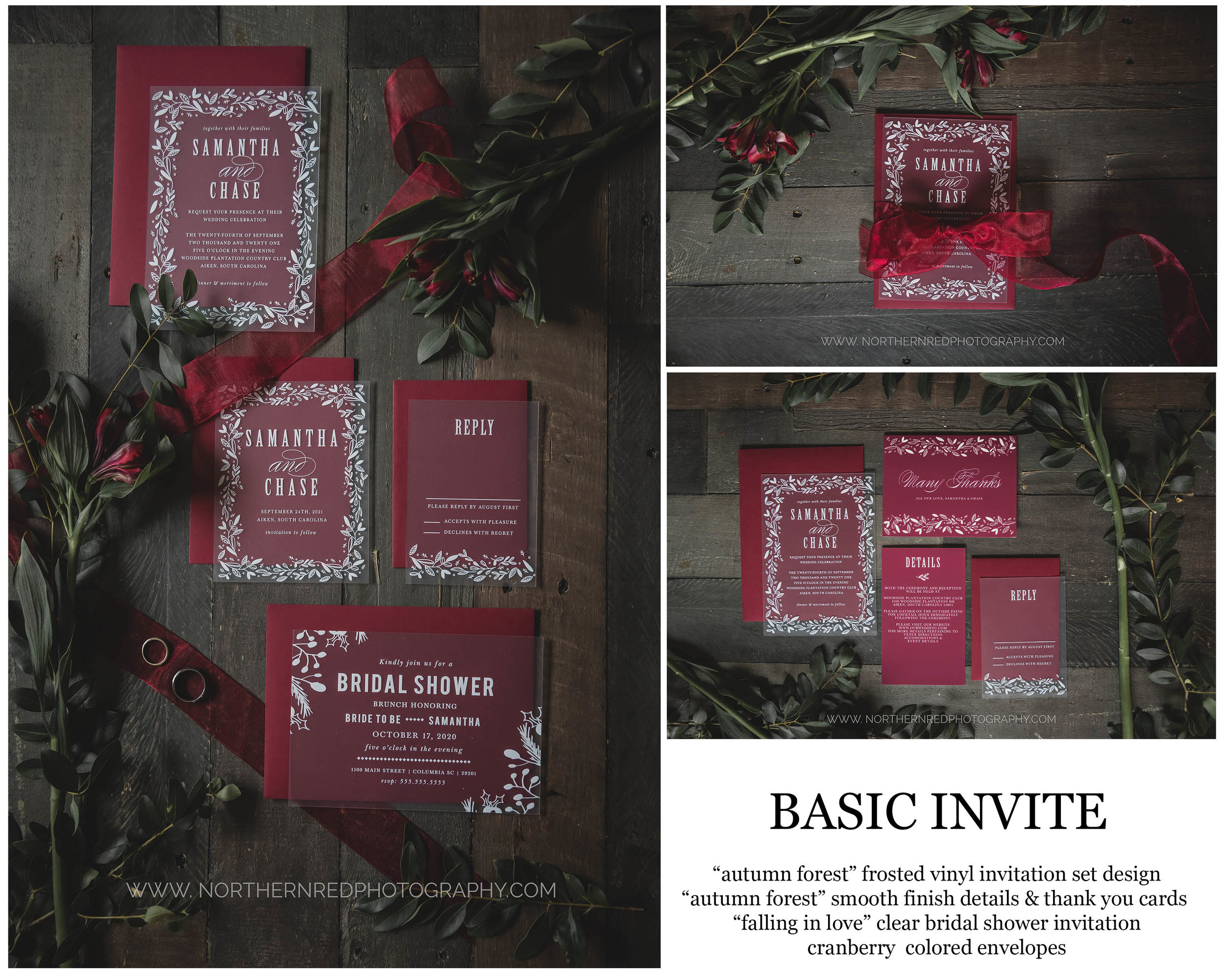 Basic Invite | Fall Invitations