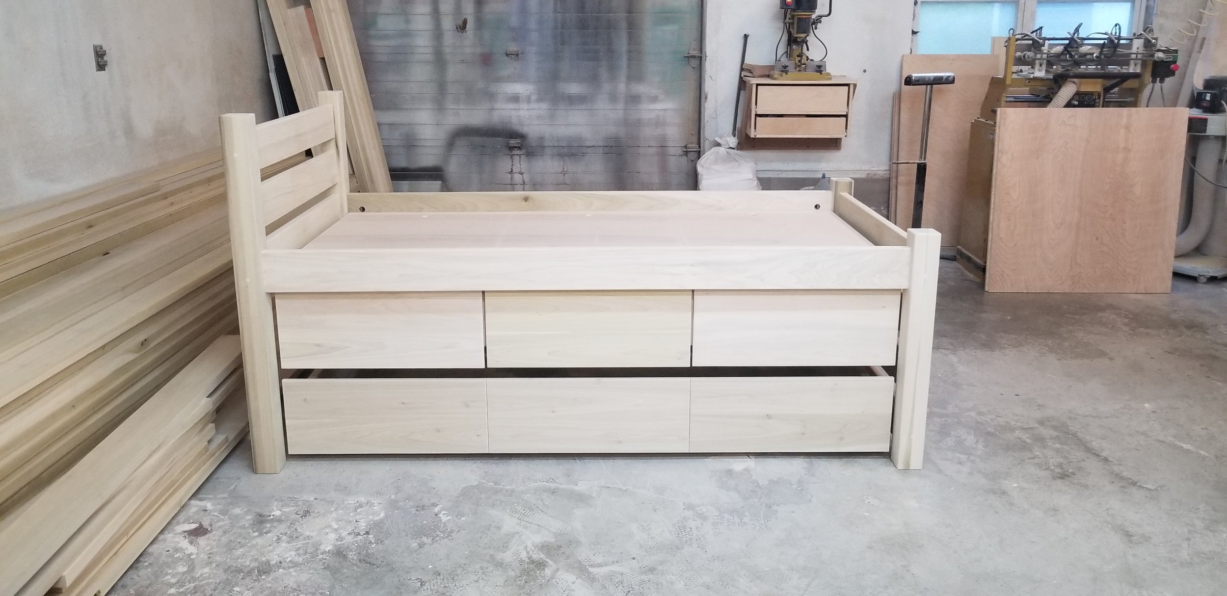 #43 MAINE CAPTAIN'S BED UNFINISHED 2.jpg