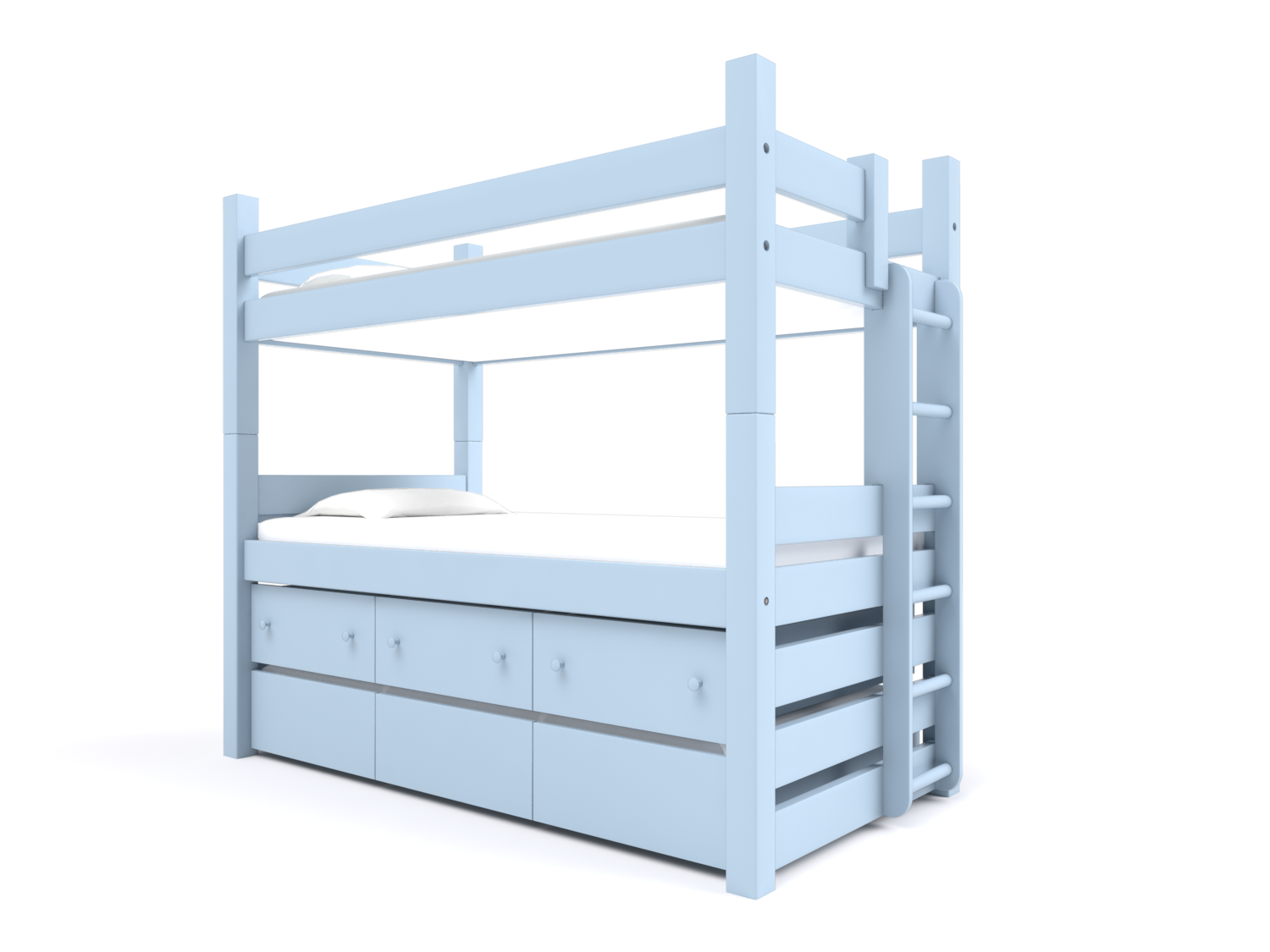 Captain S Bunk With Trundle Storage Drawers