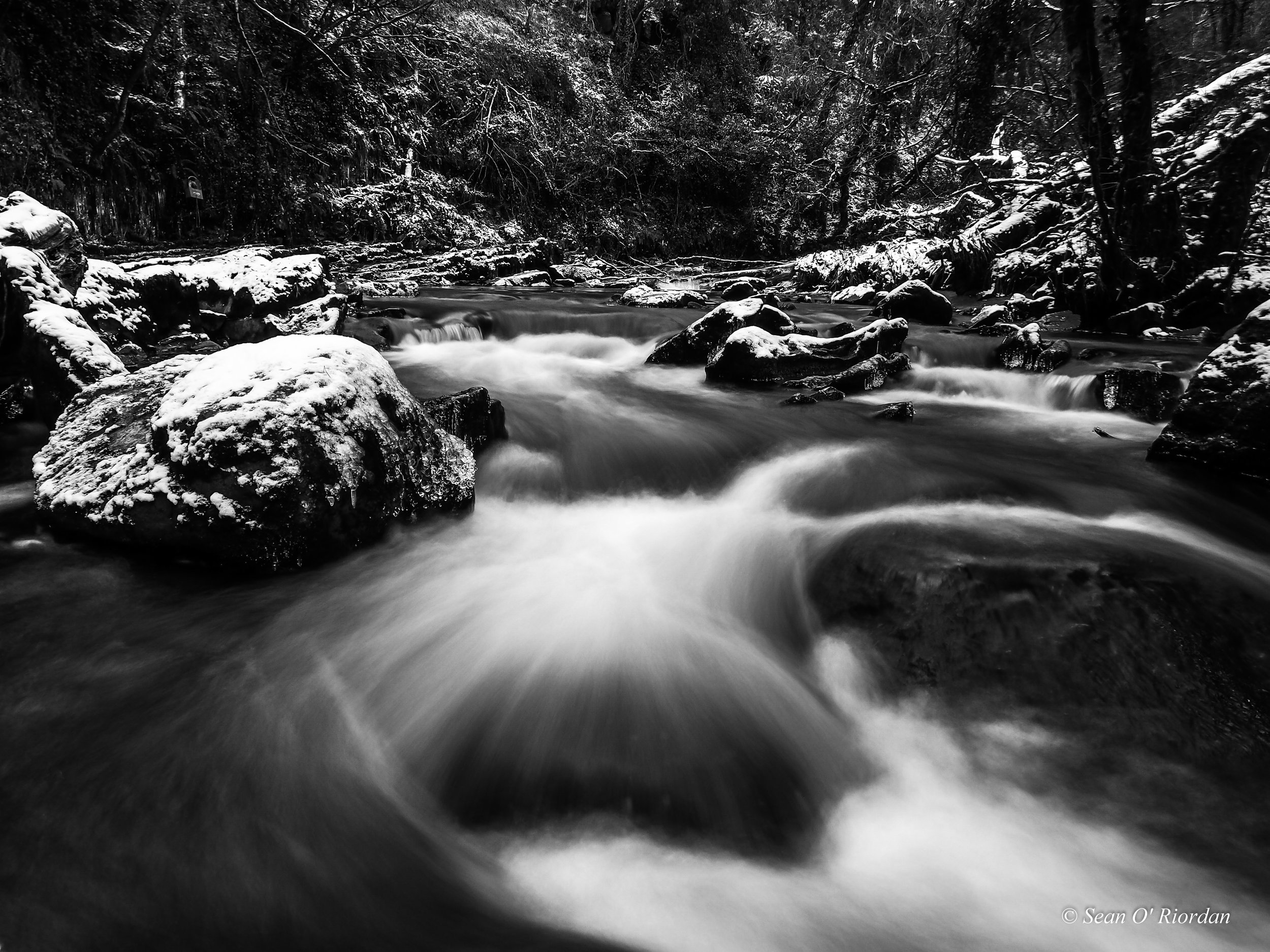 """2"""" Shutter Speed shot handheld with a 4 Stop ND Filter."""