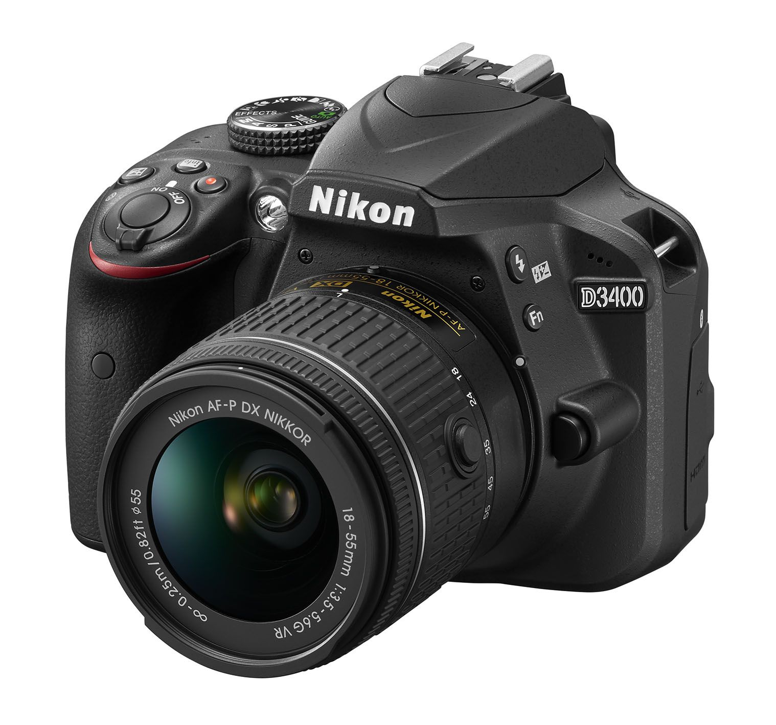 D3400 with Kit Lens