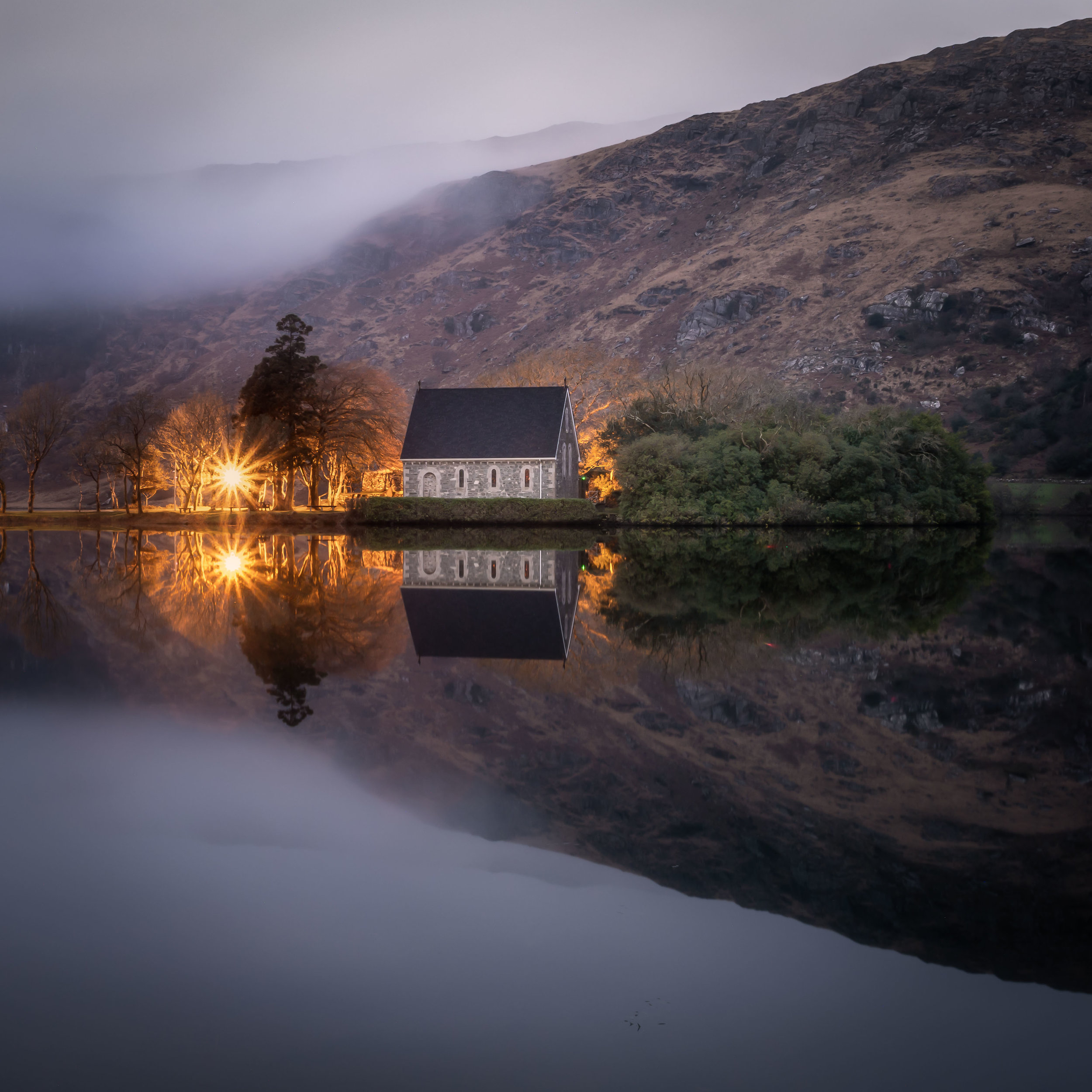 I used the live bulb mode on the Em1 Mk2 to help expose this blue hour shot