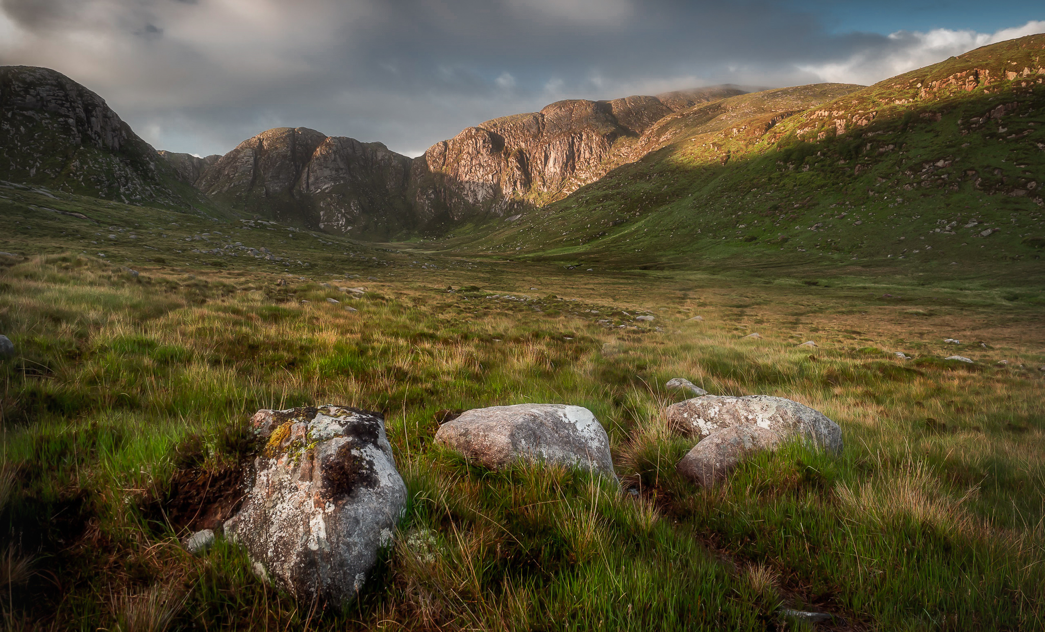 Morning Light at Poison Glen in Co Donegal  Filters: CPL with 0.9 Soft Grad