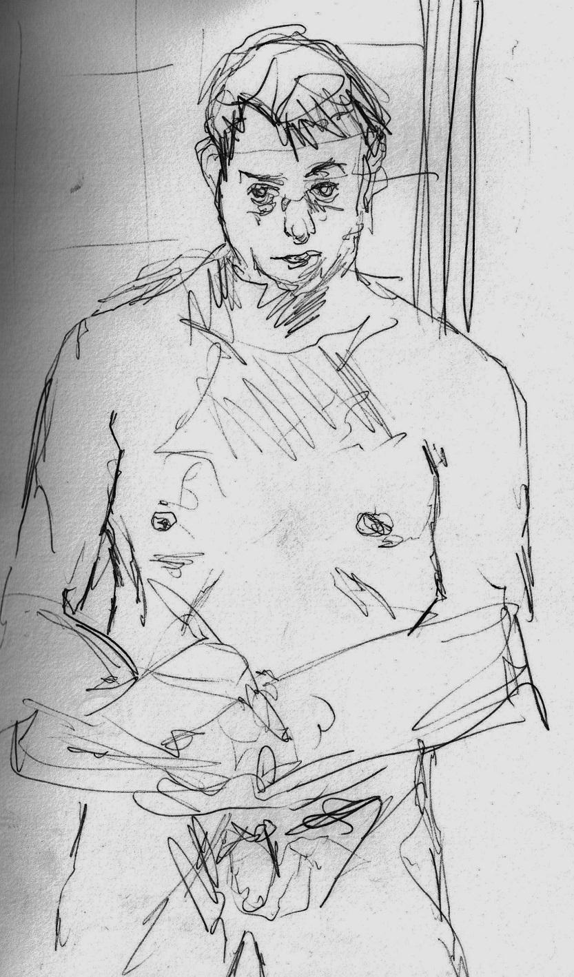 """""""Study for Self Portrait II"""""""