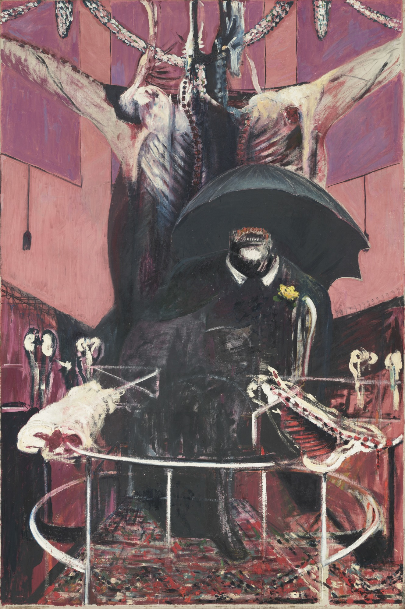 """Painting 1946"" by Francis Bacon. Part of the  MoMA  collection."
