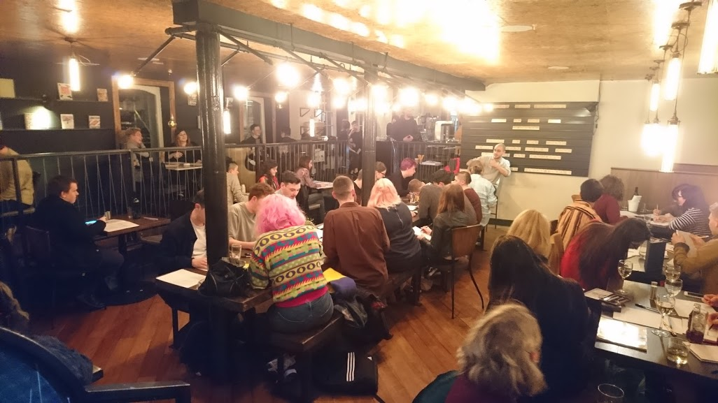 LOFT's Drink and Draw at Town Square, Belfast