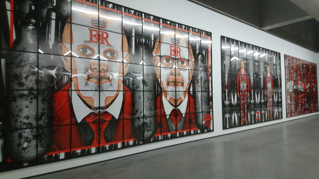 Gilbert and George at the MAC, Belfast