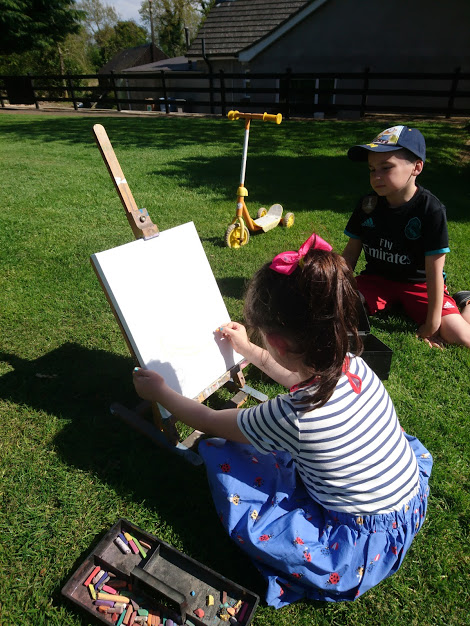 Drawing in the sun