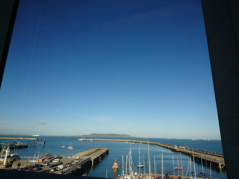 View from DLR Lexicon, Dún Laoghaire