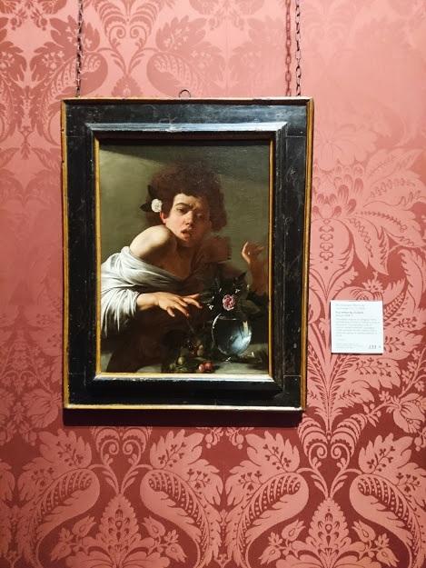 """Boy bitten by a Lizard"" by Caravaggio"
