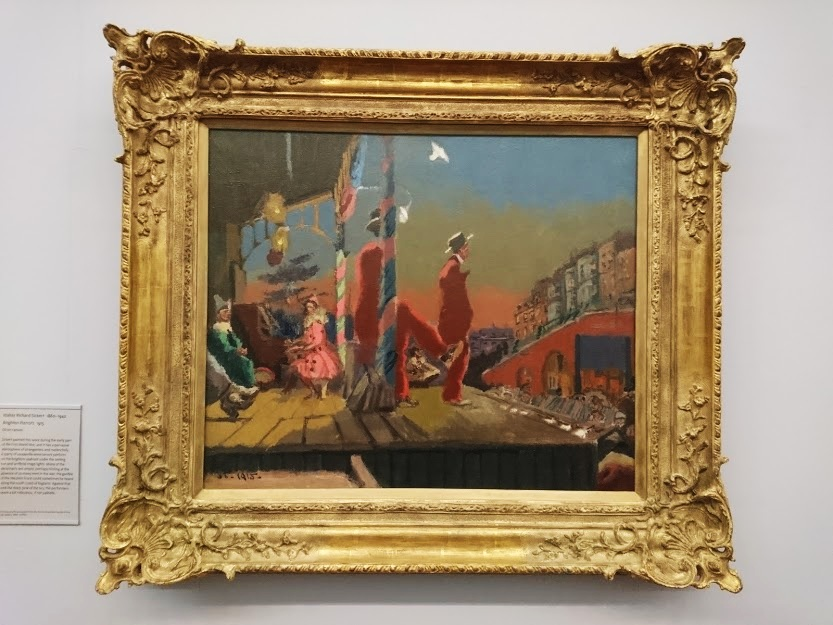 """Brighton Pierrots"" by Walter Richard Sickert."