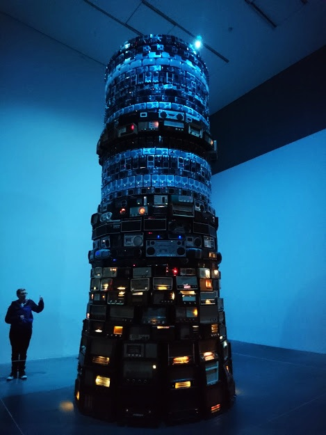 """Babel 2001"" by Cildo Meireles"