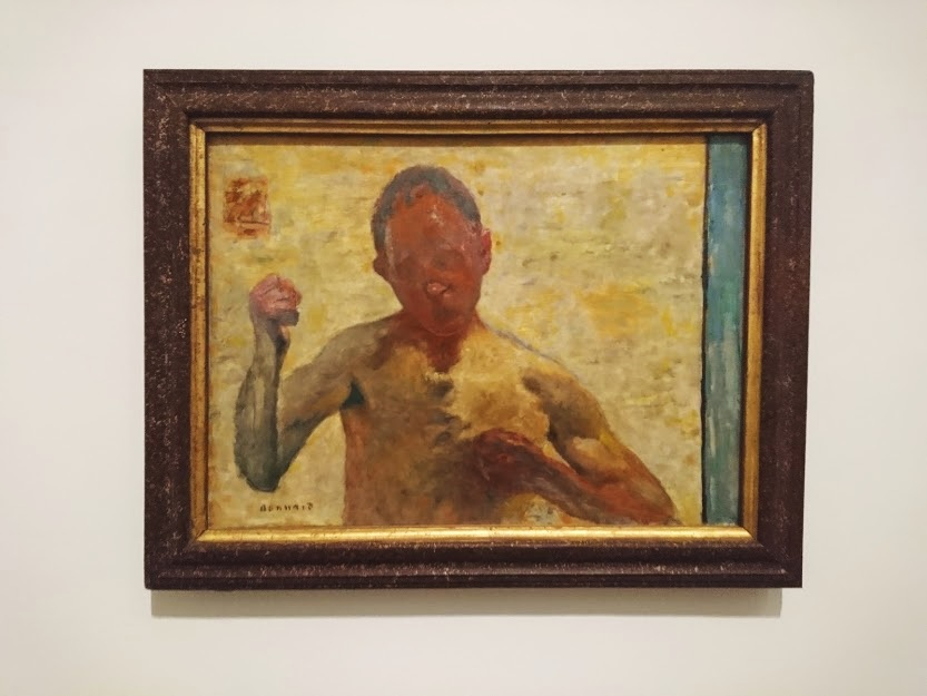 """The Boxer"" by Bonnard"