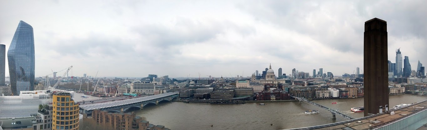 View from   Tate Modern  .