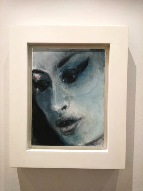 Marlene Dumas in the National Portrait Gallery