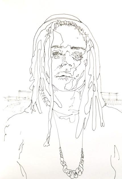 Fast sketchbook work