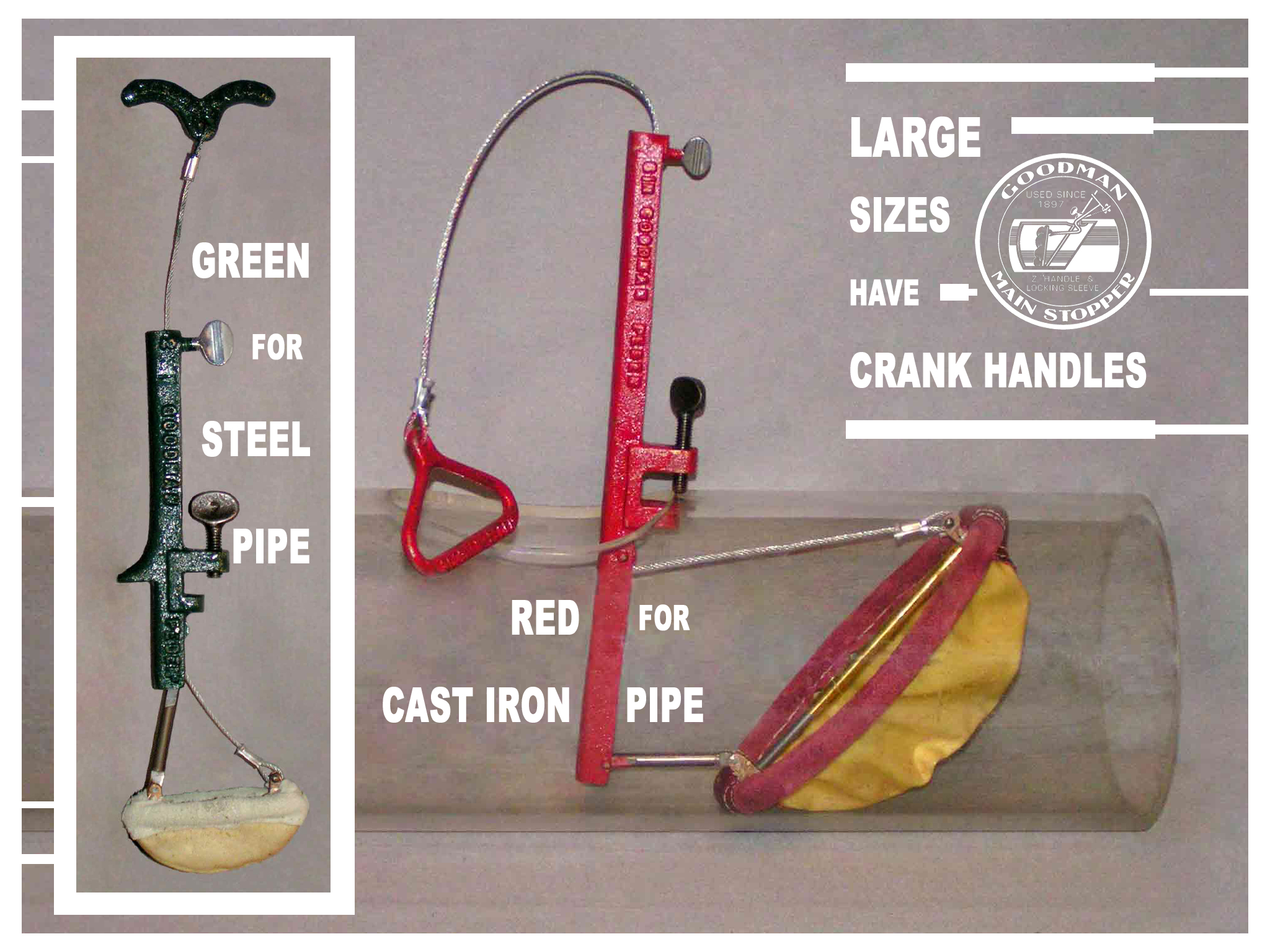 Fig. 3    EASY VISUAL IDENTIFIER FOR STEEL & CAST IRON