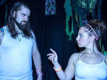 June 19–21, 2015  A Midsummer Night's Dream   World Premiere Adaptation  By William Shakespeare Adapted by Ian Sullivan Directed by the Collective