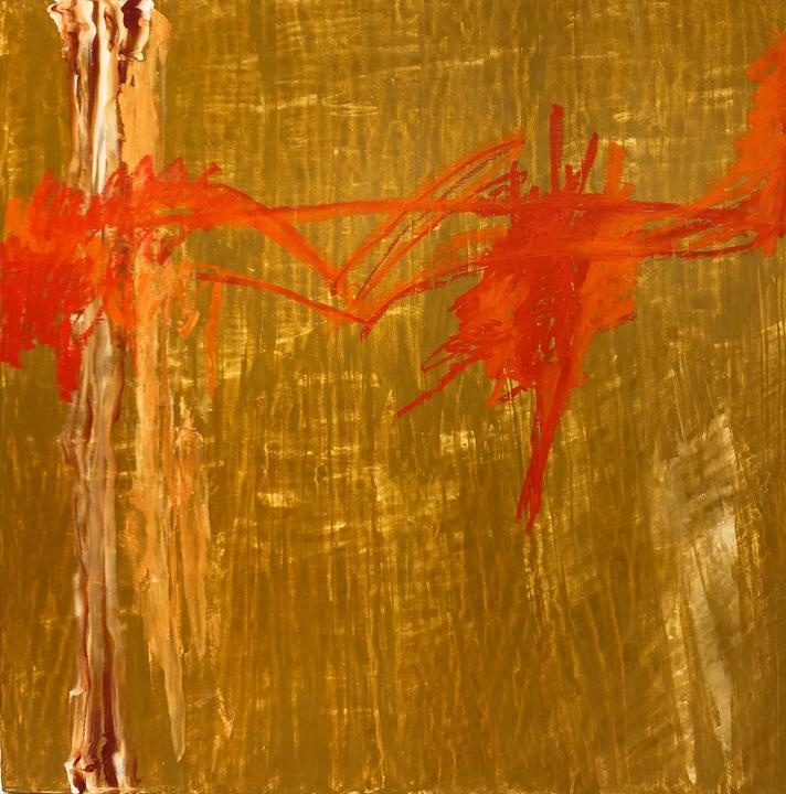 """Synergy, Oil on Panel, 48X48"""""""