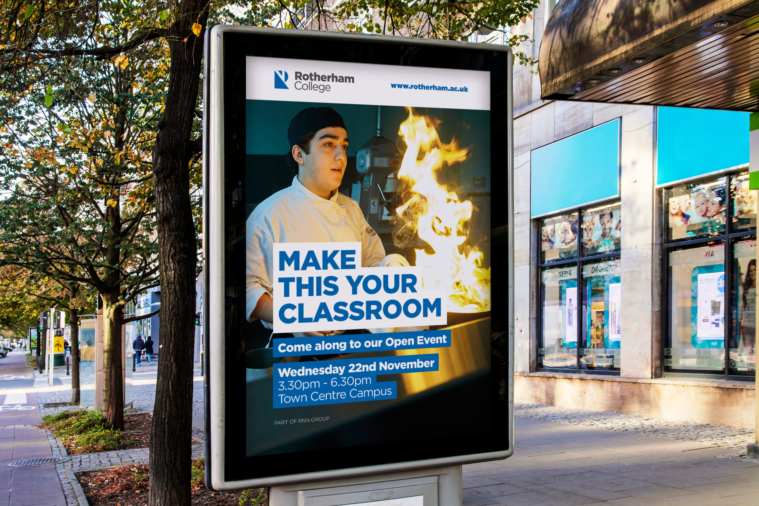 College Advertising Campaign - Graphic Design Sheffield
