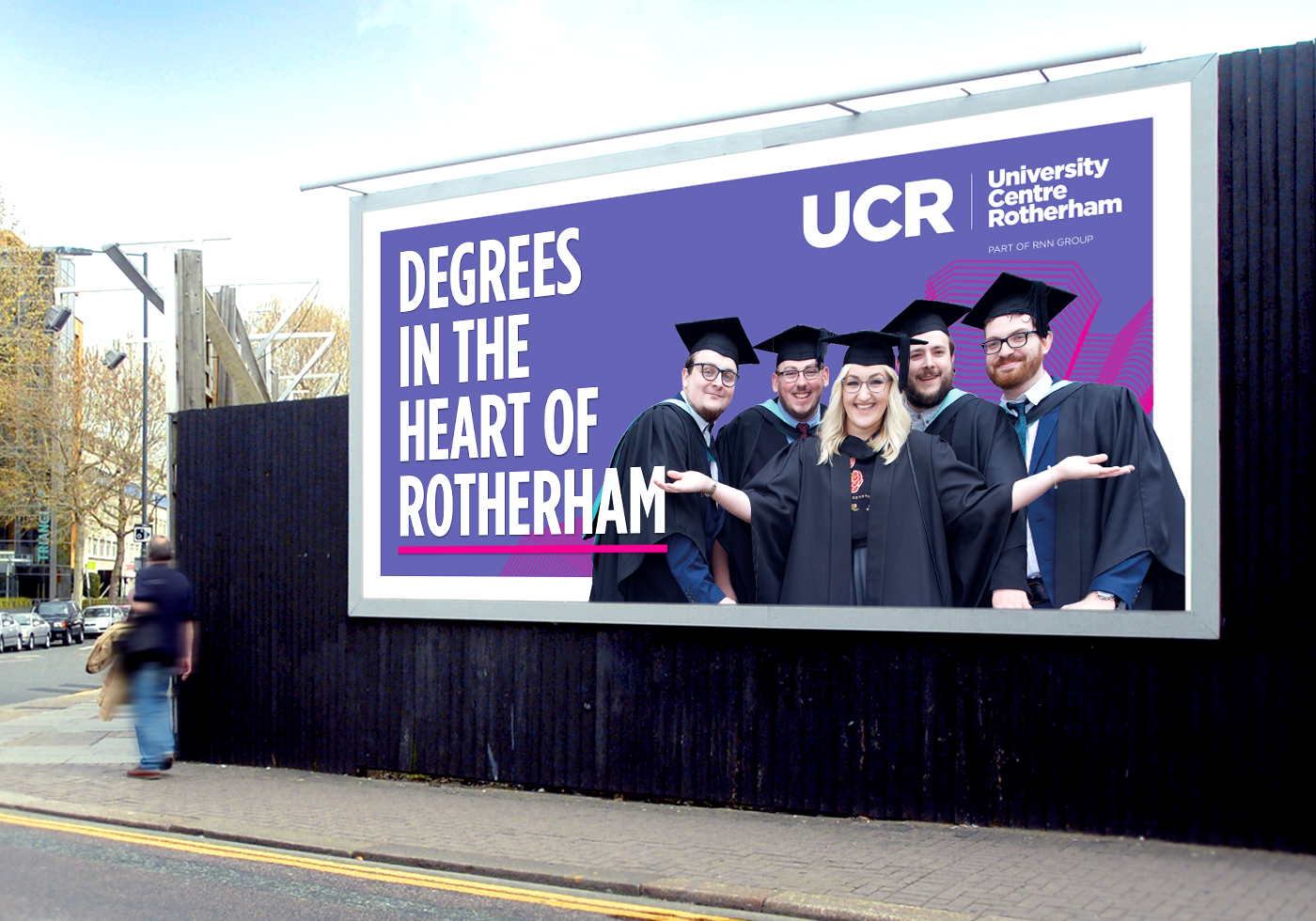 University Advertising Campaign - Graphic Design Sheffield