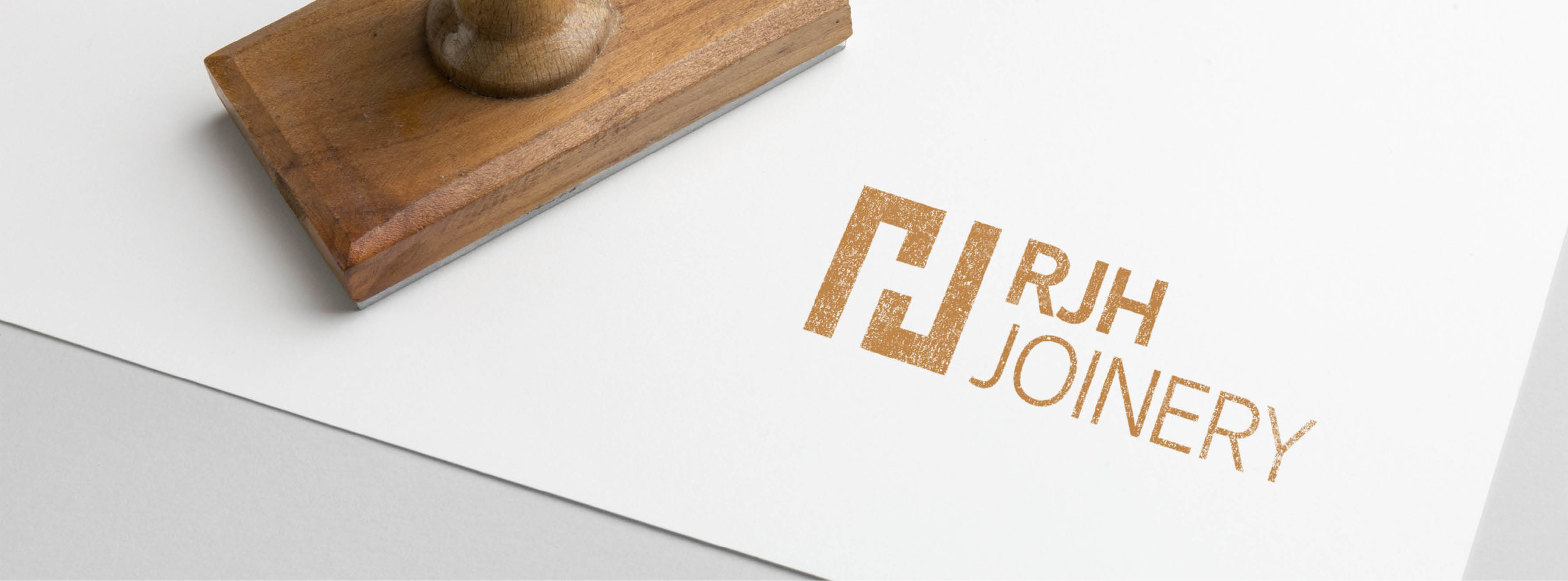 RJH Joinery - Logo Design - Branding Development - Graphic Design Sheffield