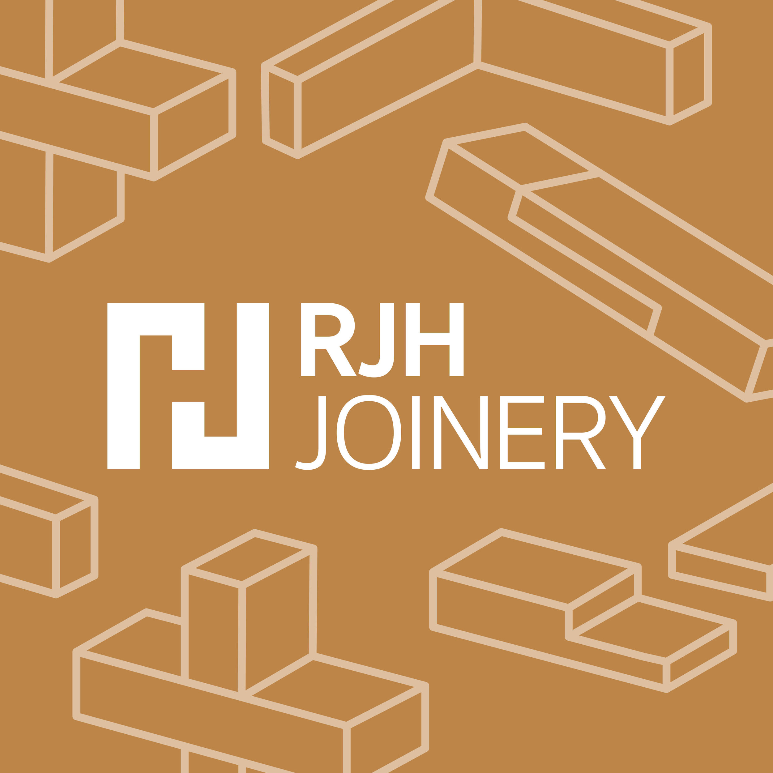 RJH Joinery - Illustration - Branding Development - Graphic Design Sheffield