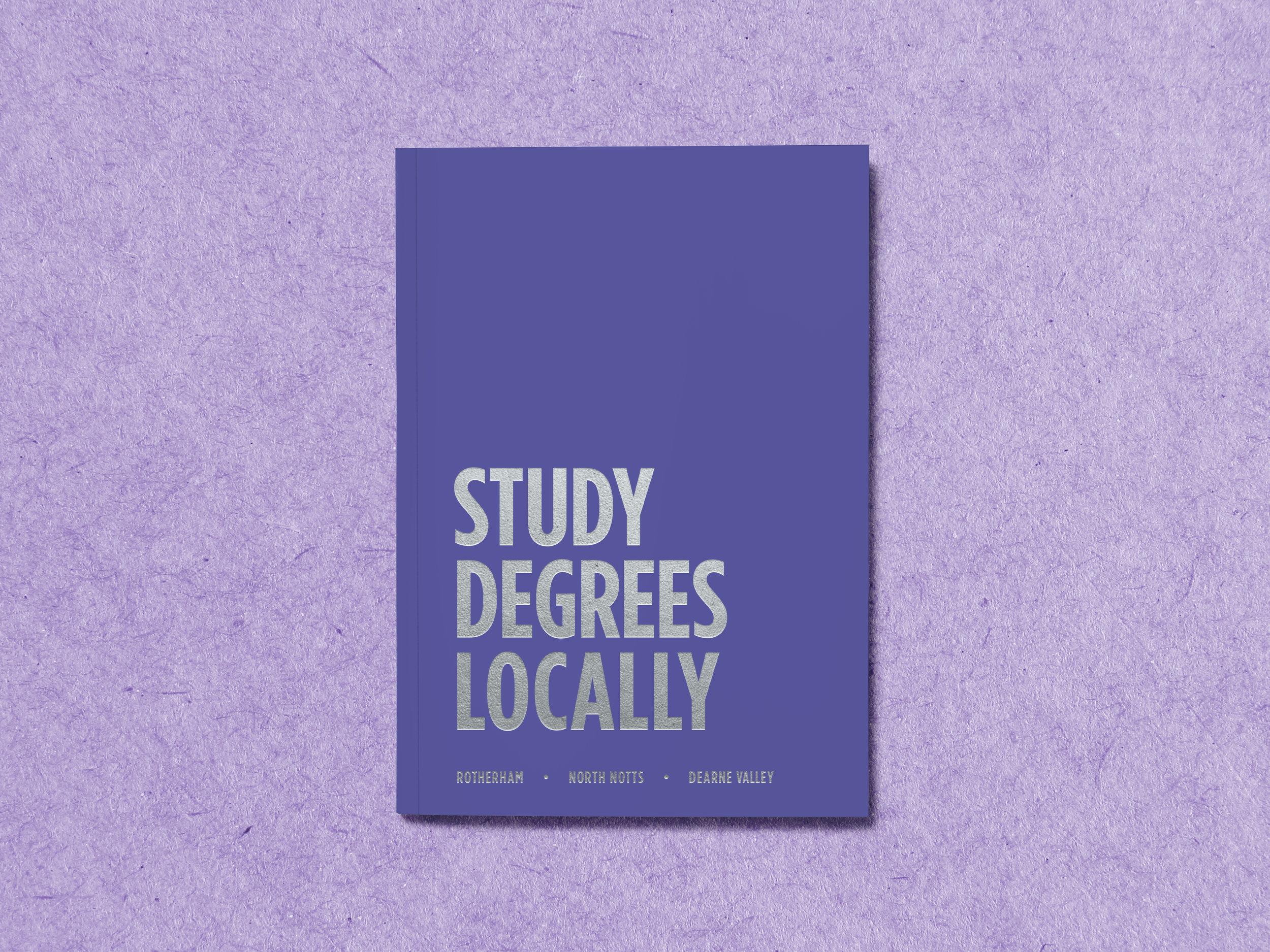 Prospectus Design - Cover Design - Graphic Design Sheffield