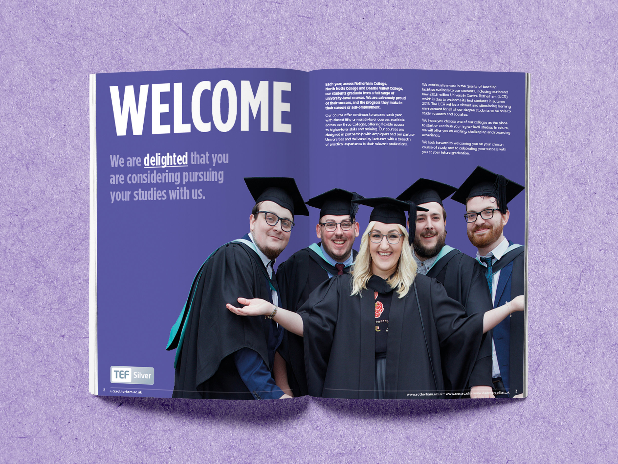 Prospectus Design - Graphic Design Sheffield