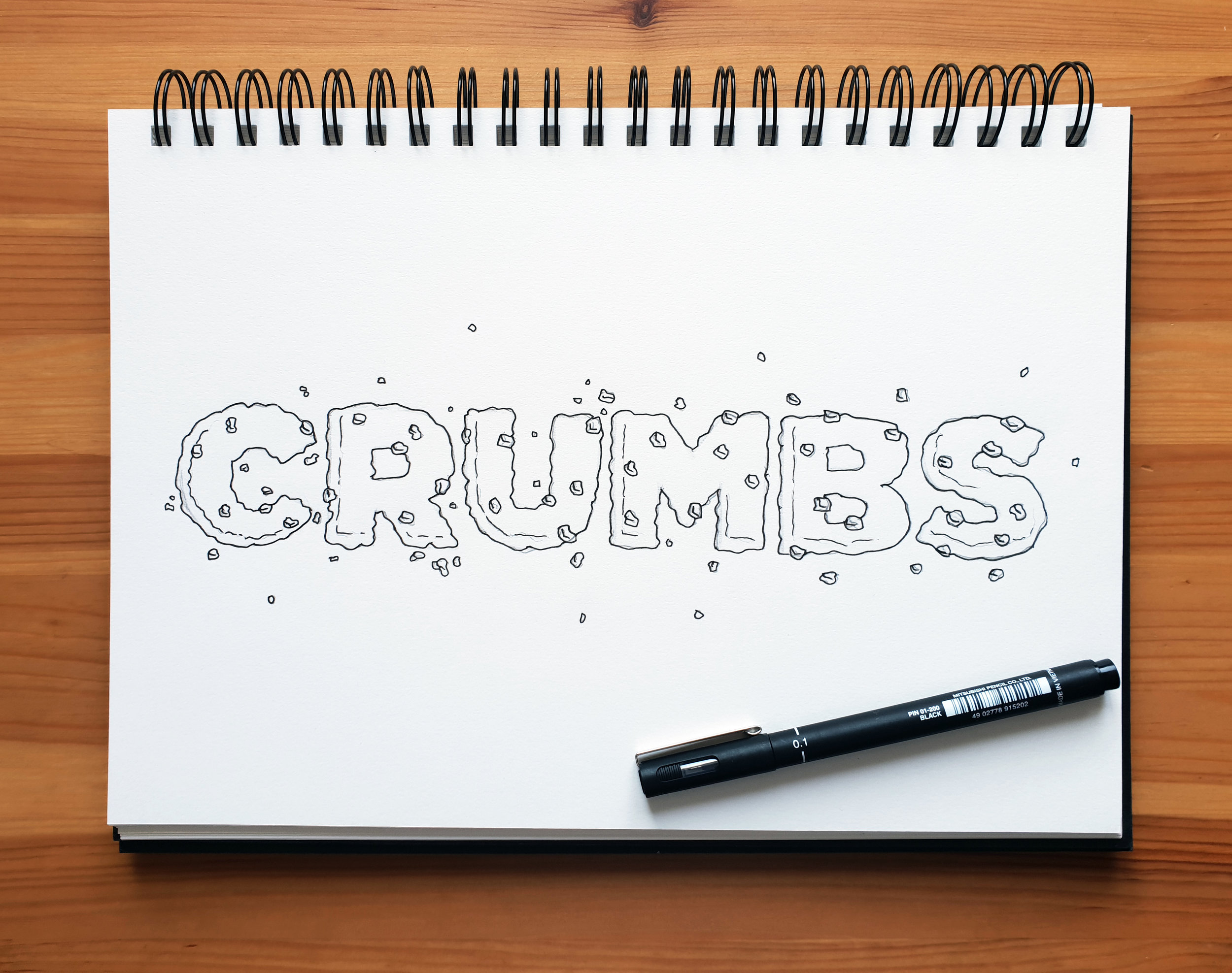 Crumbs Drawing