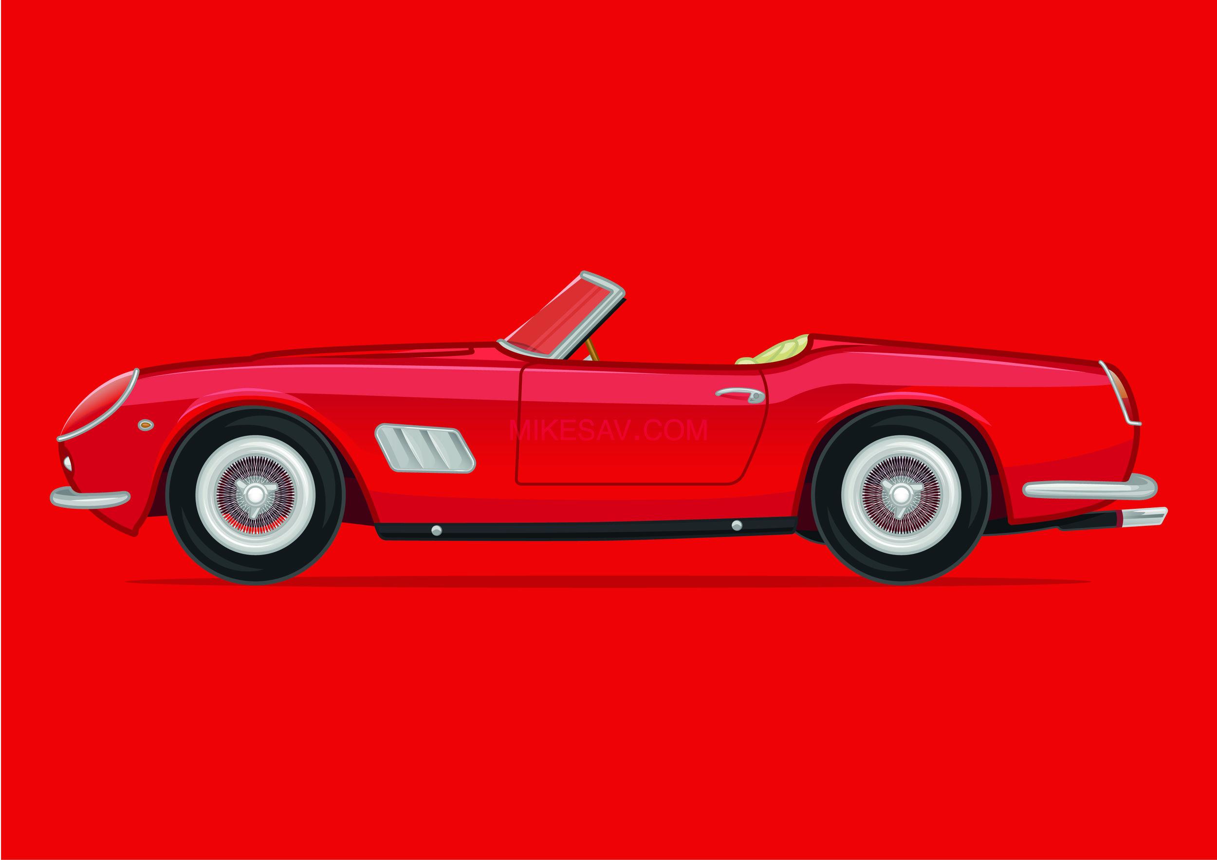Ferrari 250GT California / Ferris Bueller's Day Off (1986) / Director: John Hughes