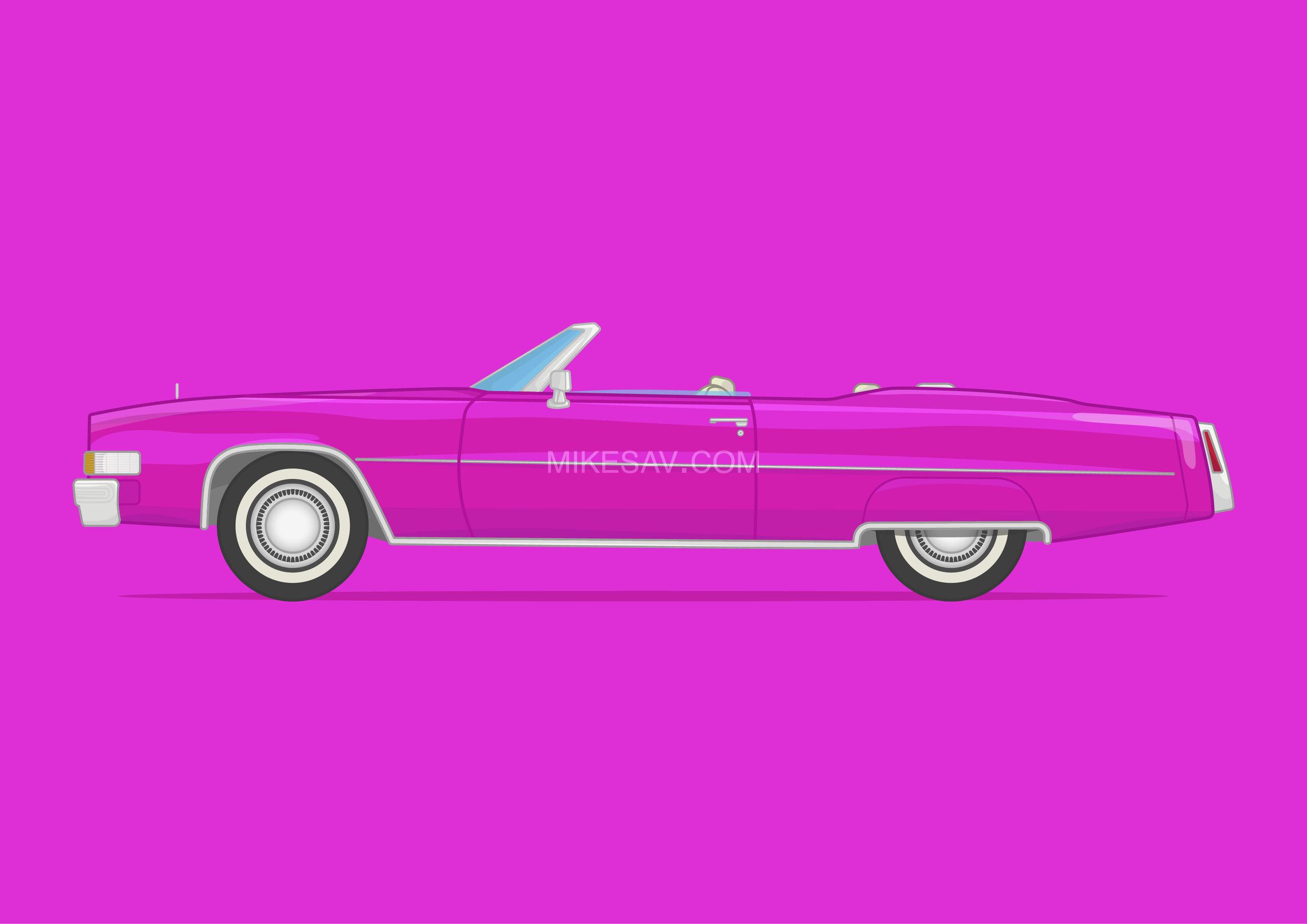 Cadillac Fleetwood Eldorado / True Romance (1993) / Director: Tony Scott