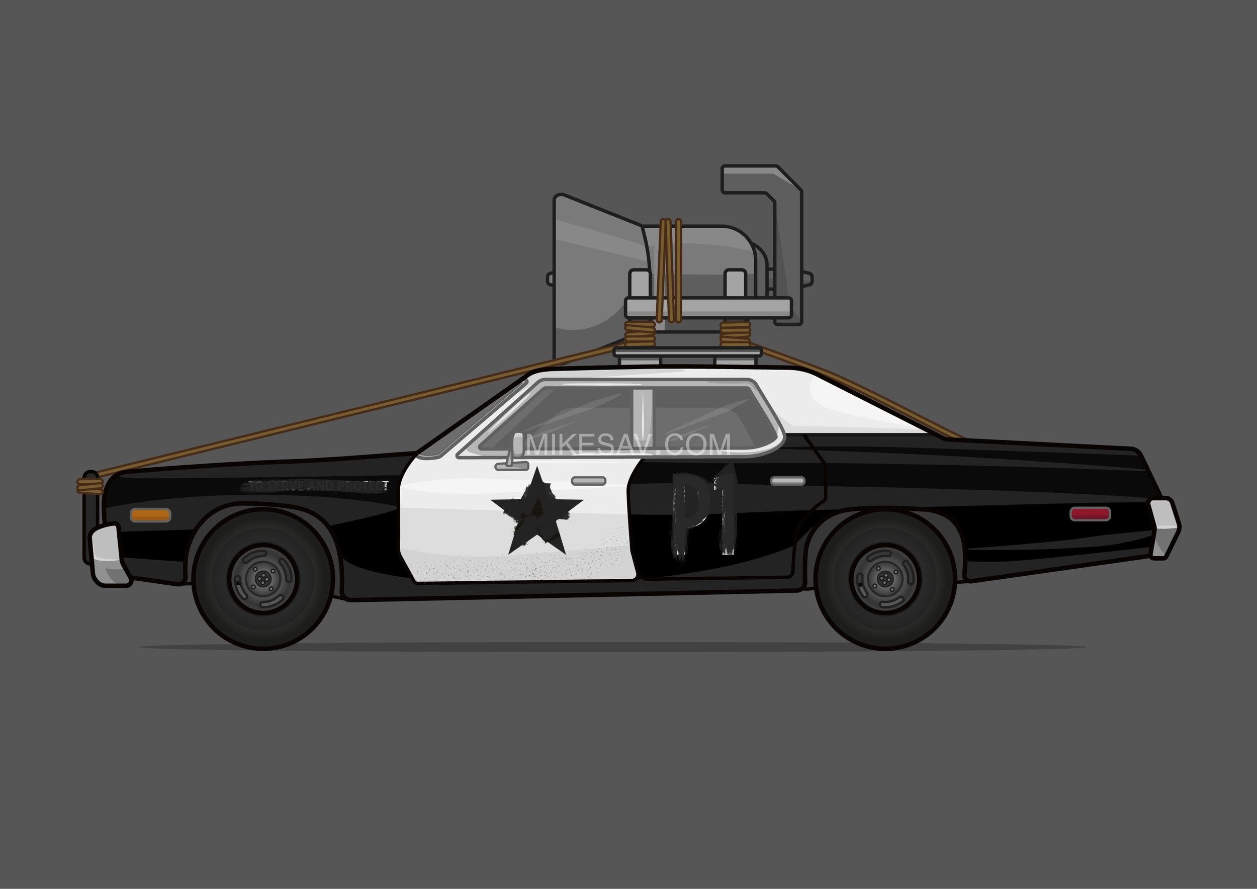 Dodge Monaco (Bluesmobile) / The Blues Brothers (1980) / Director: John Landis