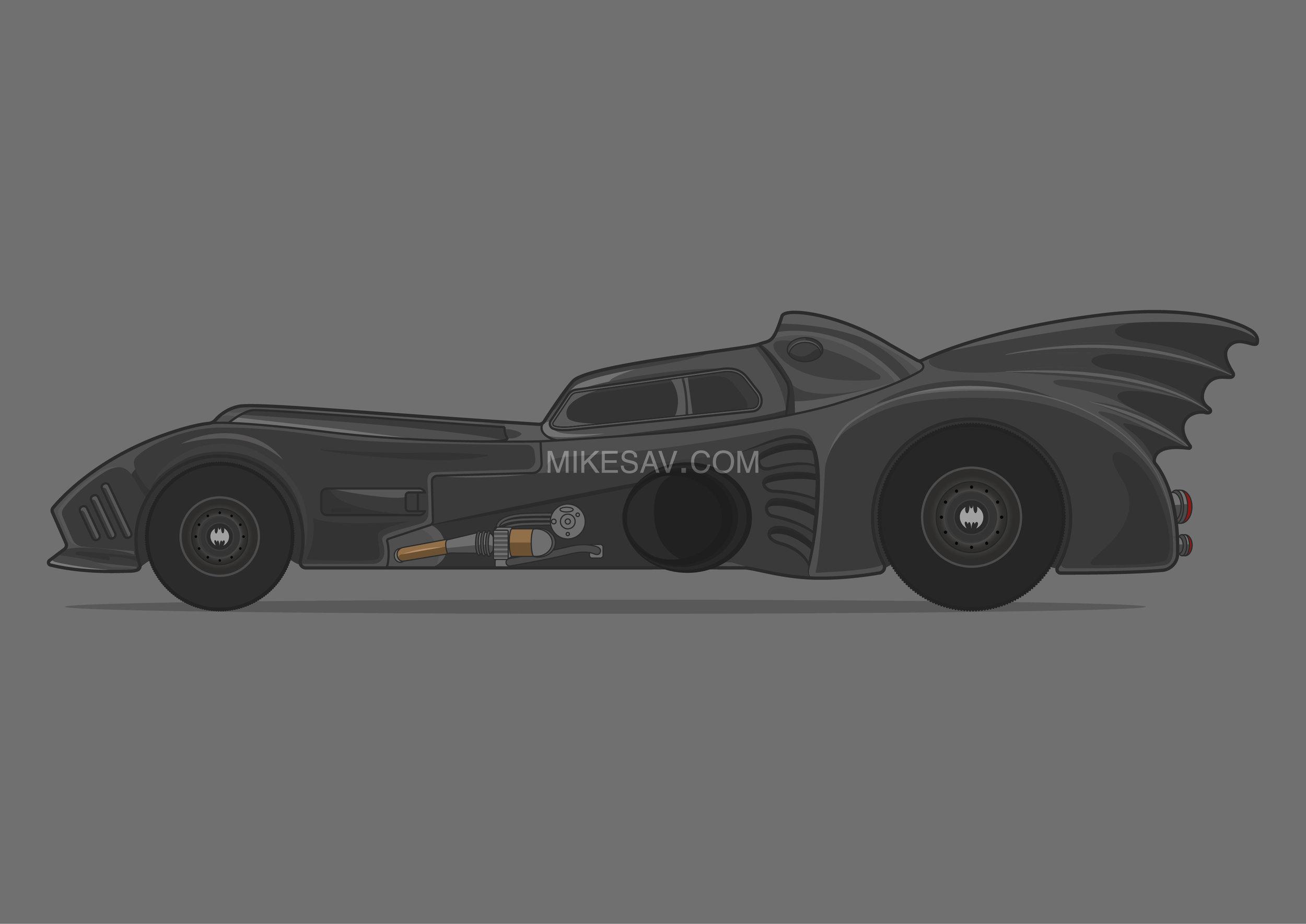 Batmobile / Batman (1989) / Director: Tim Burton