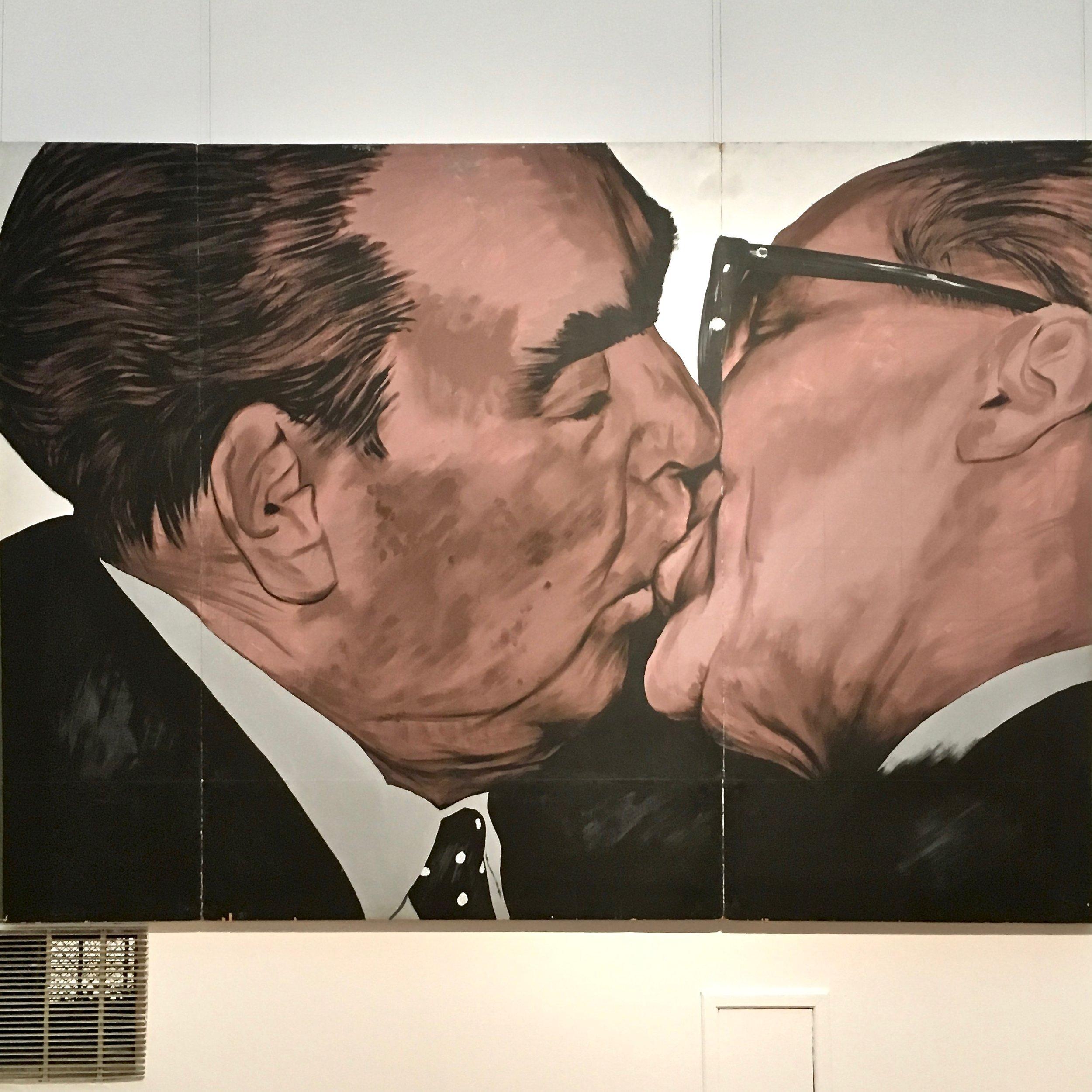Dmitry Vrubel - Testvéri csók, 1990