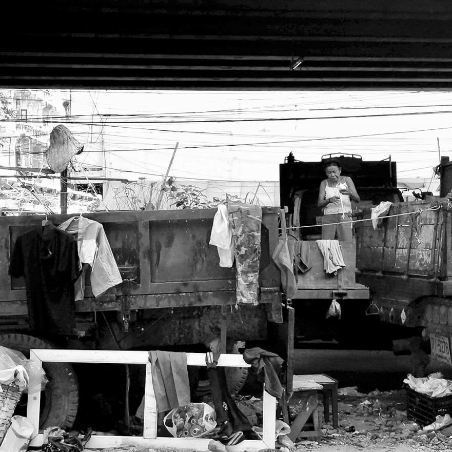 Khlong Toei - Bangkok slum