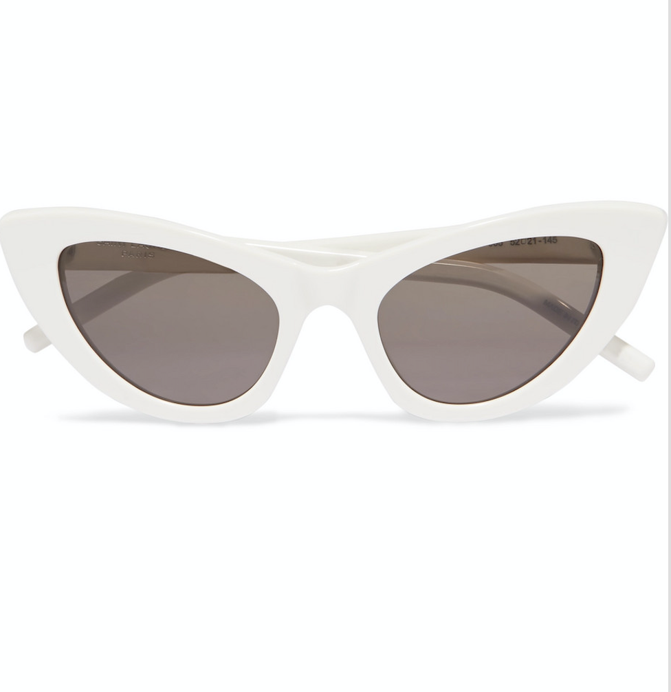 2. The  shades - Update your eyewear with this playful feline shape. £220, Saint Laurent, Shopbop.com