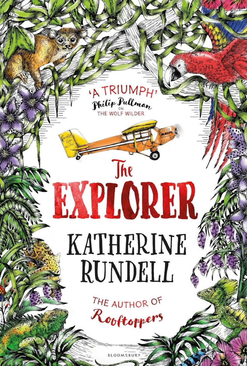 The Explorer by Katherine Russell - A classic adventure story, by one of the most exciting young children's authors around.  A plane crash lands in the Amazon and you are taken on a fast-paced, wild journey with a not-so predictable ending.  Who is the explorer?  I couldn't stop thinking about this book and the characters after I finished it - always a sign of a great book.