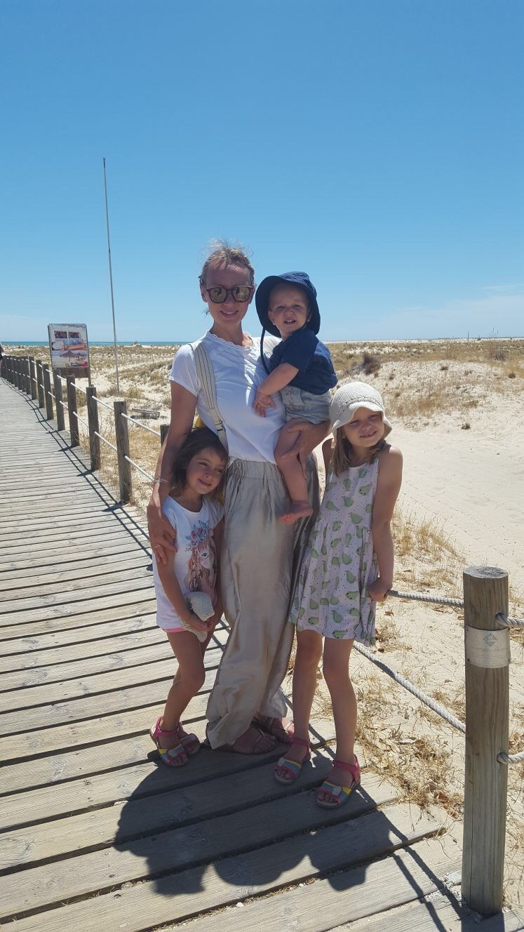 A bit about me... - Here I am at my happiest: on a remote car-free island in Portugal with my three babes, Evelyn, eight, Lola, six and William, two.I was born in London in 1975 and lived in south London until I was 10 when my mother moved my brother and me to a quirky market town in west Wiltshire, thankfully not too far from the architectural delights of Bath Spa. I now live in north London with my husband and children.I graduated from the London College of Fashion (University of the Arts) in 1999 with a BA in Fashion Promotion and have since worked for any style publication who would have me including The Observer's Life magazine,Vogue, ES Magazine and Time Out, where I resided as shopping editor for 10 years.I have recently relaunched and reinvented my beloved kidswear blog Chic Little Baby(established in 2010). This new website, Chic Little List, encompasses my love of travel with my passion for style and culture with a big emphasis on ethical brands and sustainability. It's simply a culmination of everything I love with a lot of help from talented, creative contributors so an enormous thank you to them.I hope you enjoy the handy Top Five city guides by fellow blogger mums who know the cities they are writing about inside out.Please get in touch if you are interested in contributing.Happy reading.Maggie