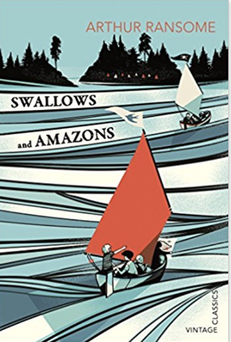 Swallows and Amazons - By Arthur RansomeThis is the ultimate summer holiday adventure. I was listening to the radio the other day and this came very high in a poll of favourite books from childhood. It's a wonderfully descriptive story of children being left to roam outdoors in the Lake District in the 1920's. The Swallows and Amazons battle it out over a summer of adventure and discovery. I read this recently and it's so addictive – it's the perfect book to read on a camping trip – just be prepared for your kids begging you to catch them fresh fish for their supper!