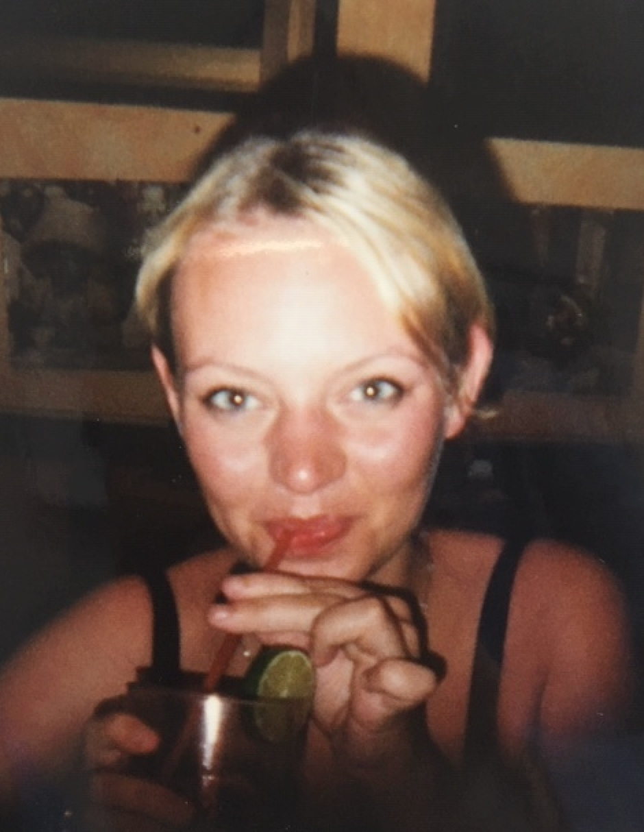 Me in Mexico, 1998, back in my drinking days