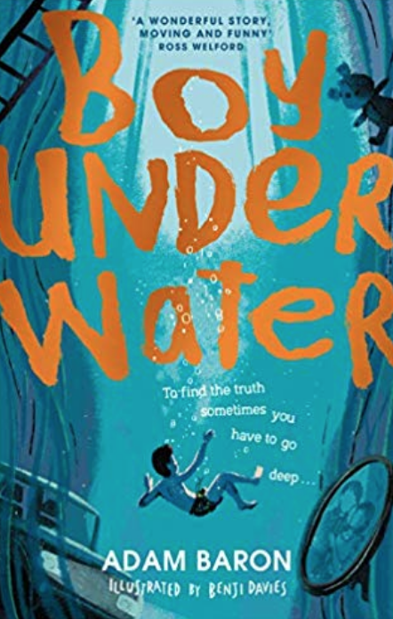 Boy Under Water - Another heartbreaking, heartwarming story told from the viewpoint of the child, about family, friends and secrets. Cymbeline Igloo (yes that is his name) challenges another boy at school to a swimming race. The problem is...he can't swim. What happens after that leads Cymbeline to solve the mystery of why his mother has never taken him near to water. This story covers adult mental health in a child-friendly, beautiful way and will probably make you cry and laugh. My 11 year old is off to secondary school in September and his holiday homework is to choose a book to read and review and he's gone for this one, so it's in the suitcase.
